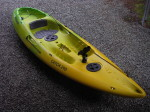 Mission Catch 290 fishing sit-on-top kayak